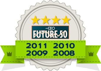 SmartCEO Future 50 2011 Award