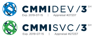 CVP is CMMI DEV/3 and CMMI SVC/3 Appraised