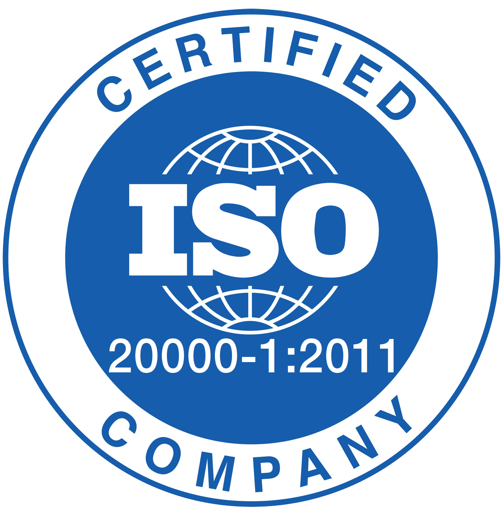 CVP is ISO 20000-1:2011 certified.