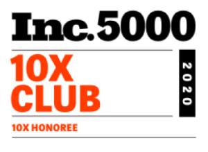 Inc 5000 10x Club logo